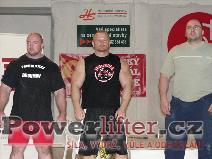Muži nad 100kg - Zelený (2), Flimel (1), Švec (3)