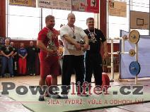 Nejlepší závodníci - Jaremczuk (3), Župka (1), Greguš (2)