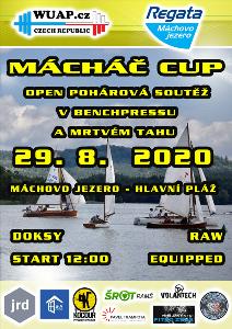 OPEN POHÁROVÁ SOUTĚŽ V BENCHPRESSU A MRTVÉM TAHU - MACHÁČ CUP 2020