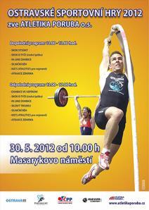 Ostravské sportovní hry 2012 - soutěž v benčpresu