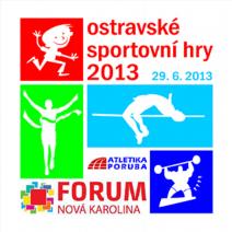 Ostravské sportovní hry 2013 - soutěž v silovém trojboji
