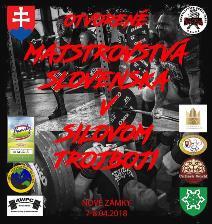 Otvorené Majstrovstvá Slovenska v silovom trojboji a drepe