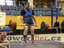 Pavel Kaňák, mrtvý tah 295kg