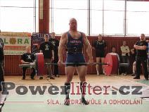 Pavel Župka, mrtvý tah 270kg