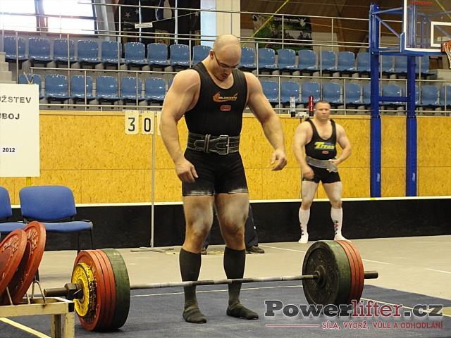 Pavel Župka, mrtvý tah 305kg