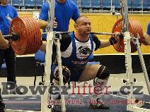 Pavol Demčák, dřep 325kg