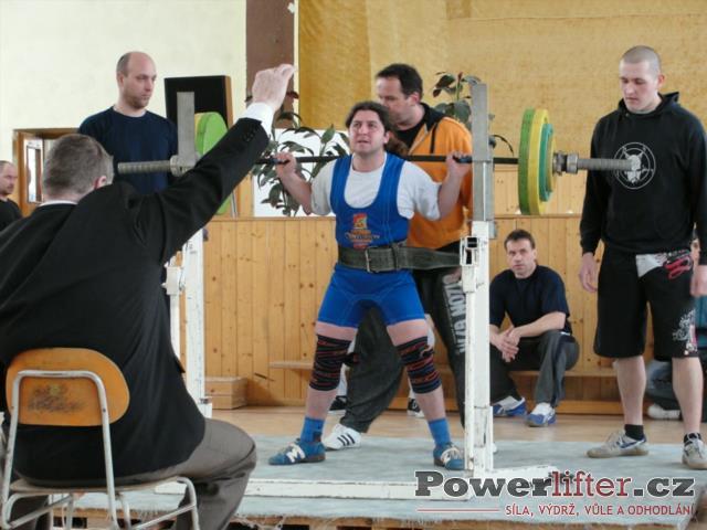 Petr Voznička, 185kg