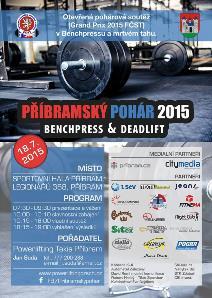 Příbramský pohár 2015 Benchpress & Deadlift
