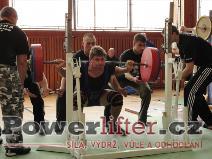 Radim Hořínek, dřep 220kg
