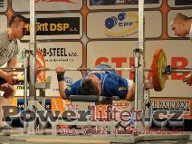 Roger Piron, LUX, 155kg