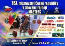 19. Mistrovství ČR v silovém trojboji Masters