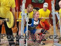 Kateřina Hýblerová, dřep 110kg