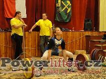 Kateřina Hýblerová, mrtvý tah 105kg
