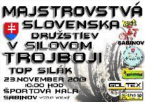 Majstrovstvá Slovenska v silovom trojboji družstiev a TOP silák