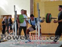 Pavel Kaňák, dřep 250kg