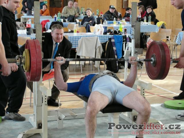Petr Zámečník, 140kg
