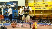 Ján Schwarz, 255kg, SK
