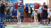 Zoltán Kanát, dřep 315kg, český rekord M1 do 120kg