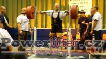 Tomáš Břinčil, dřep 305kg