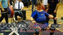 Zoltán Kanát, benč 220kg