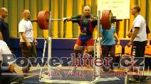 Martin Brabec, dřep 310kg