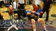 Karel Válek, benč 212,5kg