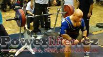 Karel Válek, benč 217,5kg