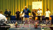 Martin Brabec, mrtvý tah 312,5kg