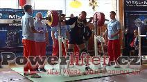 Tomáš Břimčil, dřep 310kg