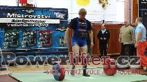Pavel Uher, mrtvý tah 267,5kg