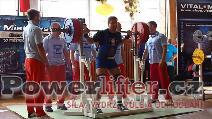 Petr Vlach, dřep 270kg
