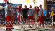 Antonín Pavlovec, dřep 280kg