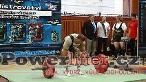Libor Novák, mrtvý tah 225kg