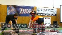 Bedřich Navrátil, 250kg