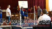 Libor Novák, dřep 155kg