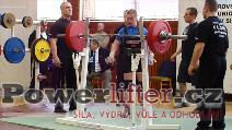 Martina Koutňáková, dřep 177,5kg, juniorka do 72kg