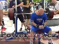 Martin Turek, benč 190kg, vítězný pokus