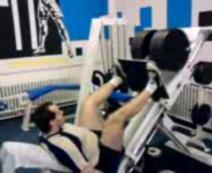 Leg-press 320kg, bez bandáží