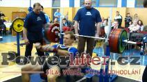 Čestmír Wolf, 200kg, 1.místo do 82,5kg