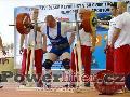Pavel Demčák, vydřený dřep 310kg v kategorii do 125kg