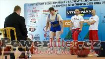 Dušan Švarcbach, 257,5kg
