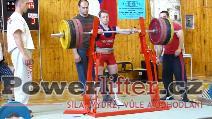 Karel Ruso, 255kg