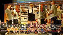 Pavel Klepáč, CZE, 245kg