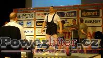 Pavel Klepáč, CZE, 252,5kg