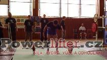 Pavel Važan, mrtvý tah 130kg