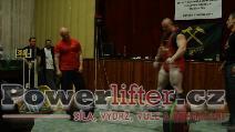 Petr Petráš, mrtvý tah 380kg