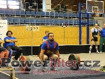 Tomáš Lacko, mrtvý tah 232,5kg