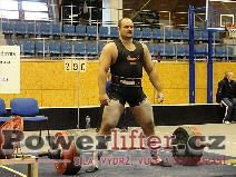 Vladimír Pop, mrtvý tah 290kg