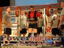 Serge Monseu, BEL, 185kg