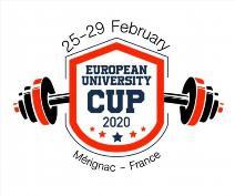 1. Evropský pohár v klasickém (RAW) silovém trojboji univerzit